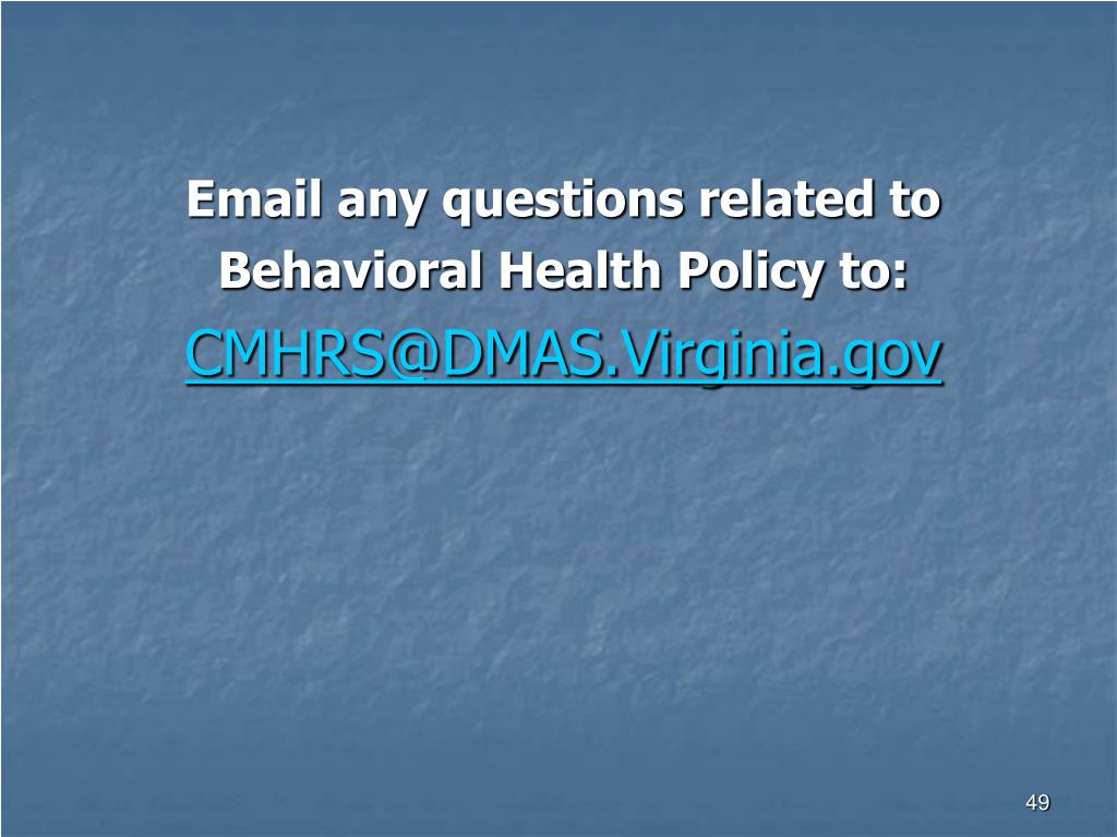 Email any questions related to