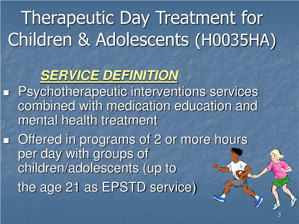 Therapeutic Day Treatment for Children & Adolescents