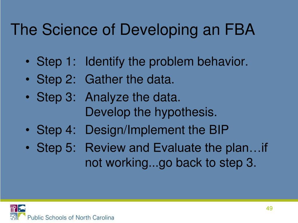 The Science of Developing an FBA