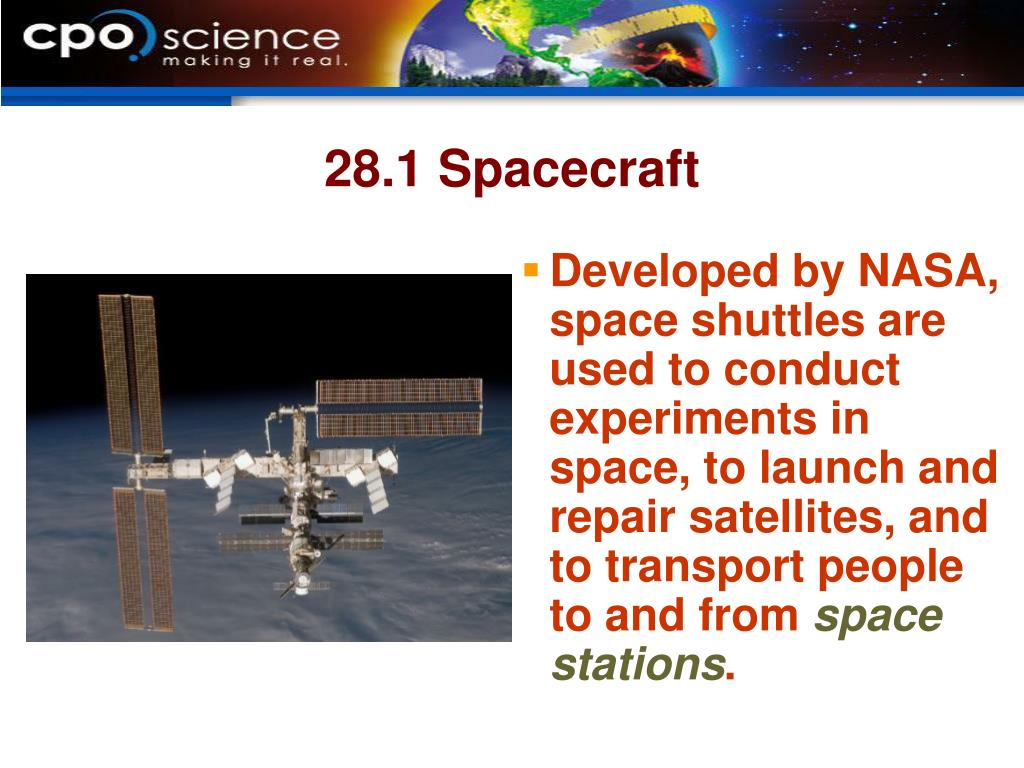 28.1 Spacecraft
