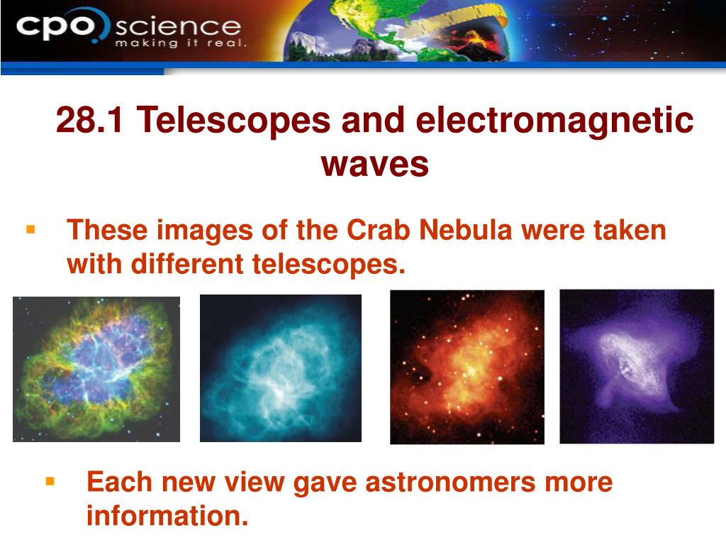 28.1 Telescopes and electromagnetic waves