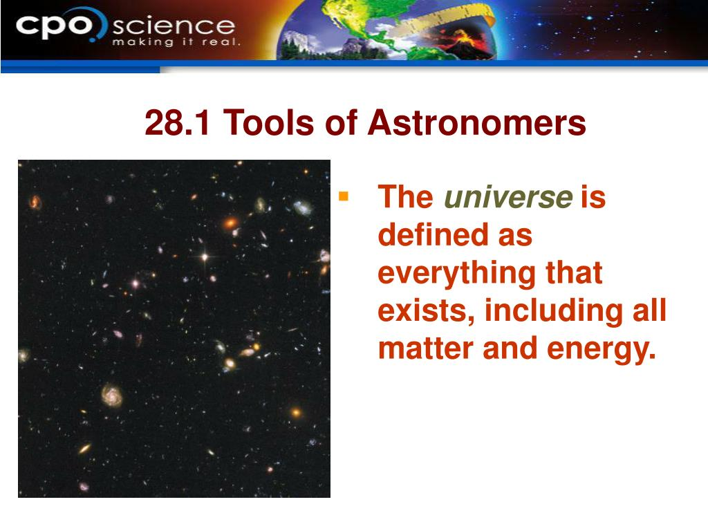 28.1 Tools of Astronomers