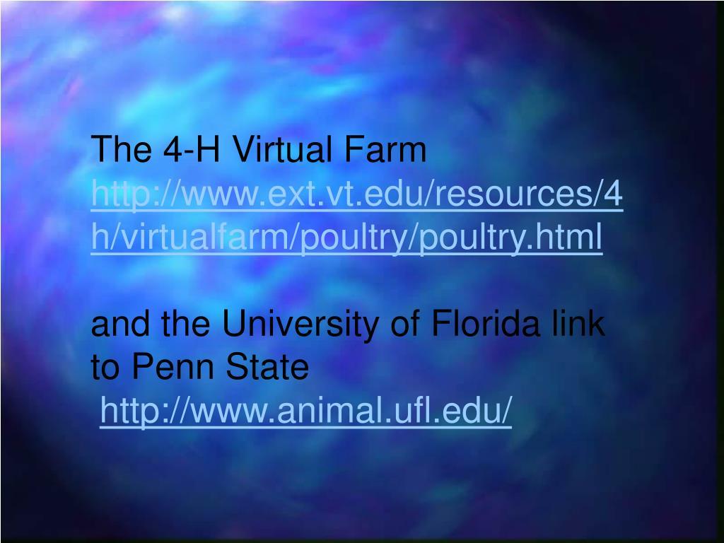 The 4-H Virtual Farm