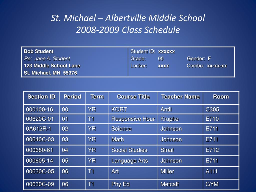 St. Michael – Albertville Middle School