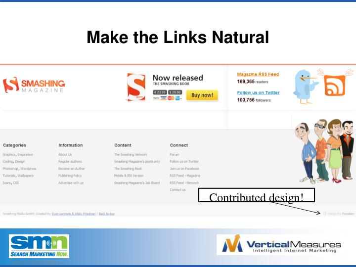 Make the Links Natural