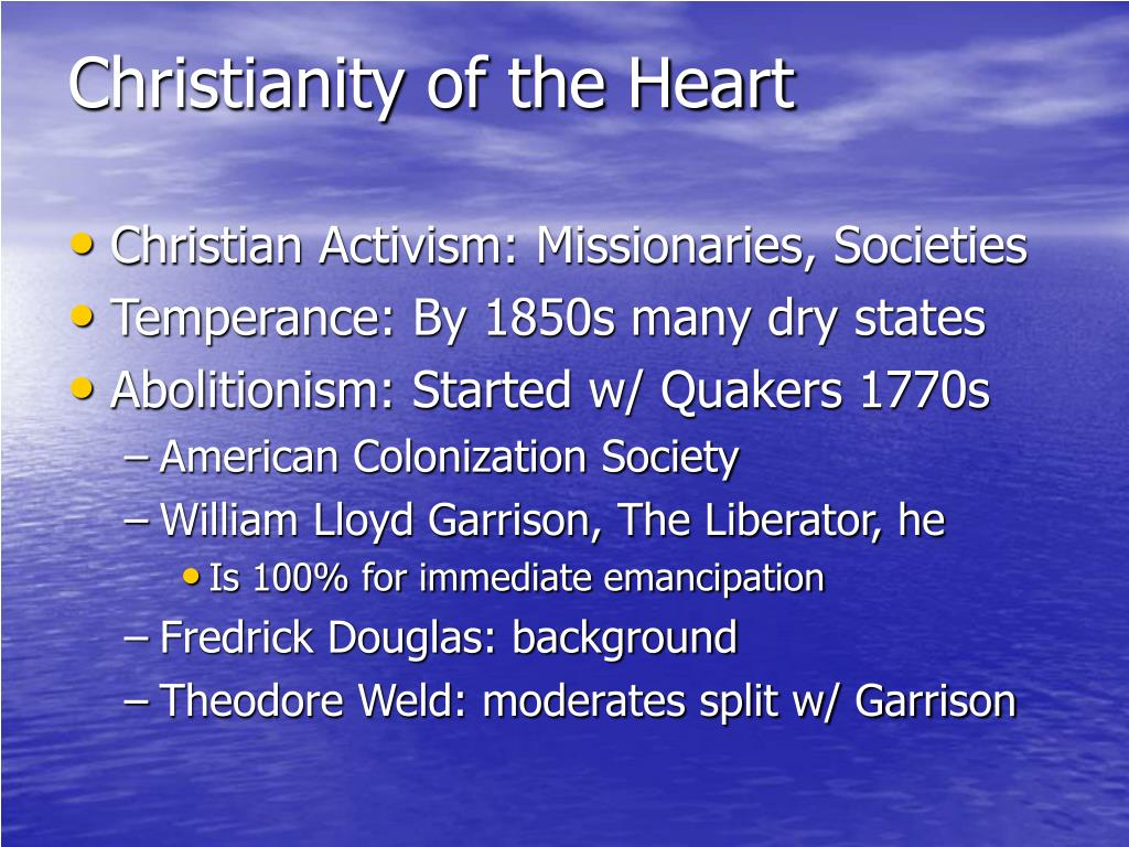 Christianity of the Heart