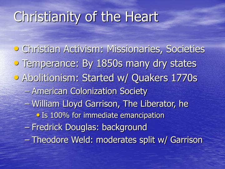 Christianity of the heart l.jpg
