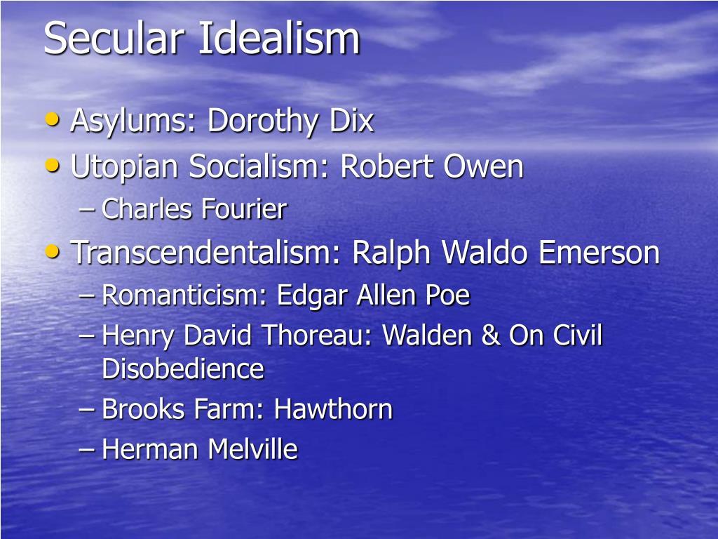 Secular Idealism