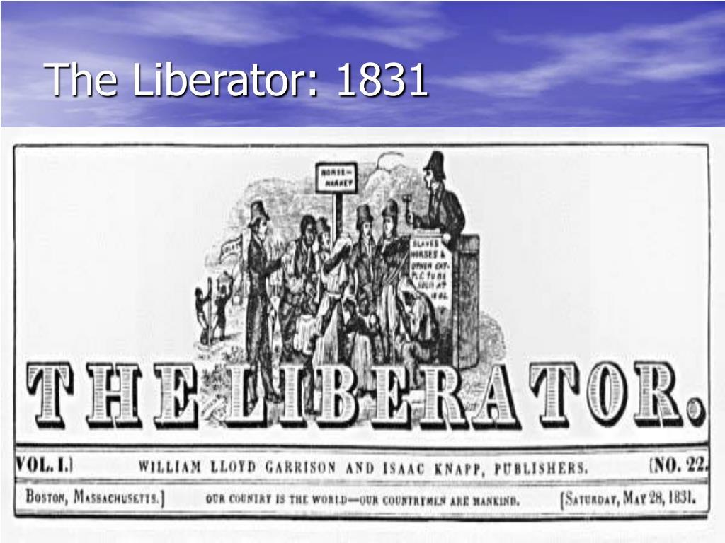 The Liberator: 1831