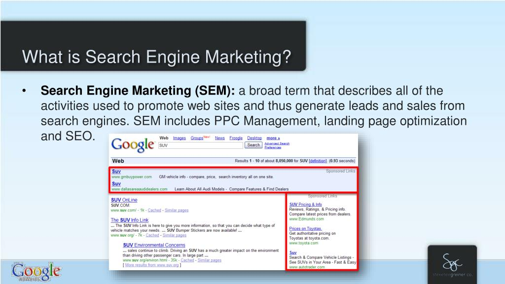What is Search Engine Marketing?