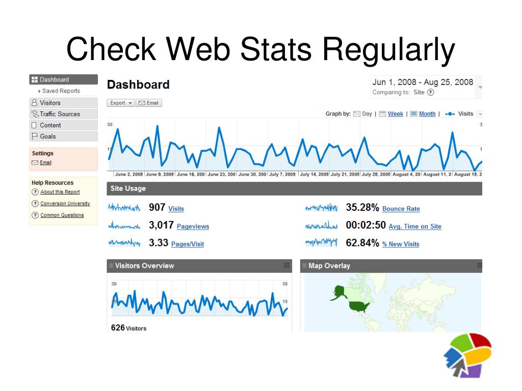 Check Web Stats Regularly