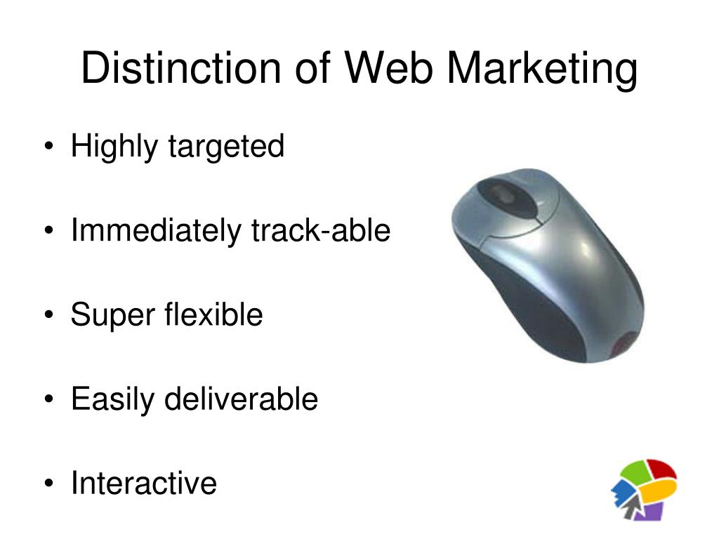 Distinction of Web Marketing