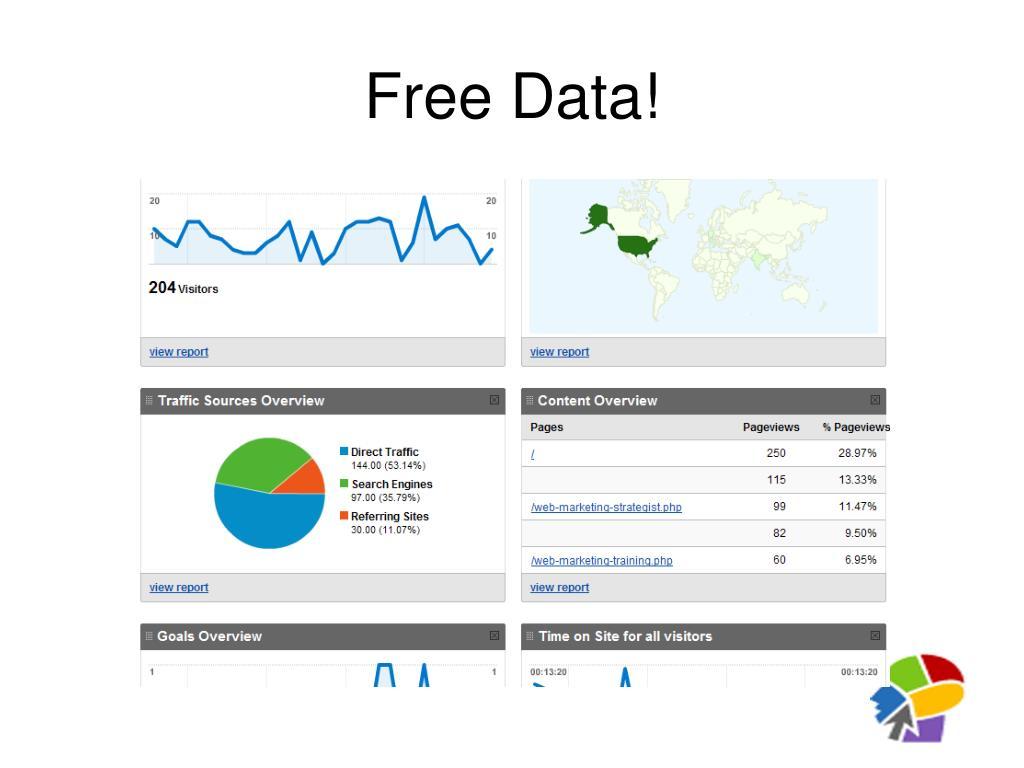 Free Data!