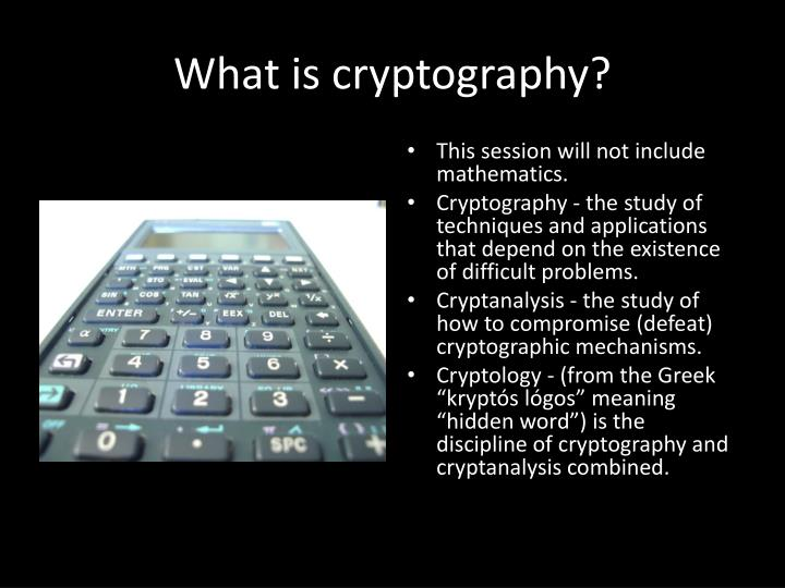 What is cryptography l.jpg