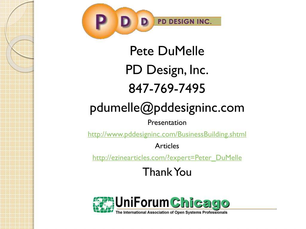 Pete DuMelle