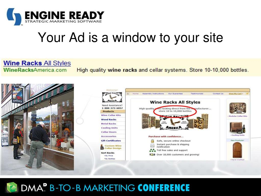 Your Ad is a window to your site