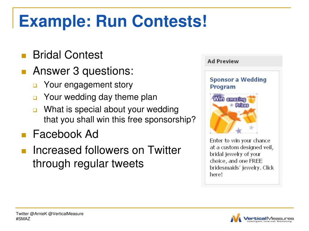 Example: Run Contests!