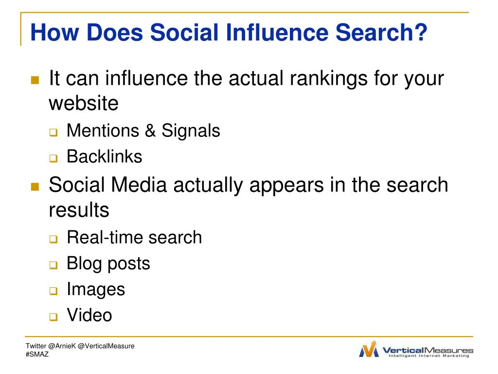 How Does Social Influence Search?