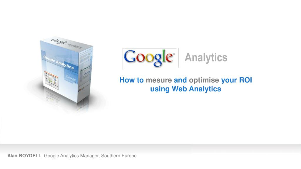 alan boydell google analytics manager southern europe