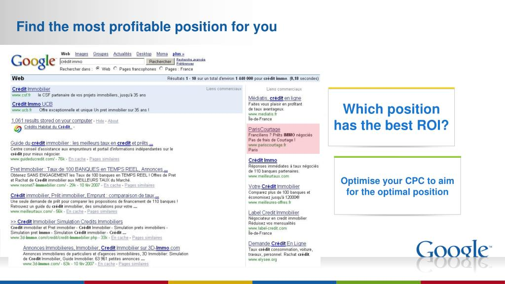 Find the most profitable position for you