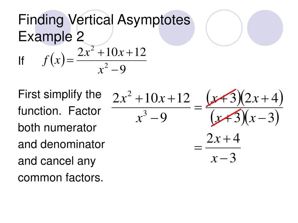 PPT - ASYMPTOTES TUTORIAL PowerPoint Presentation - ID:1223810
