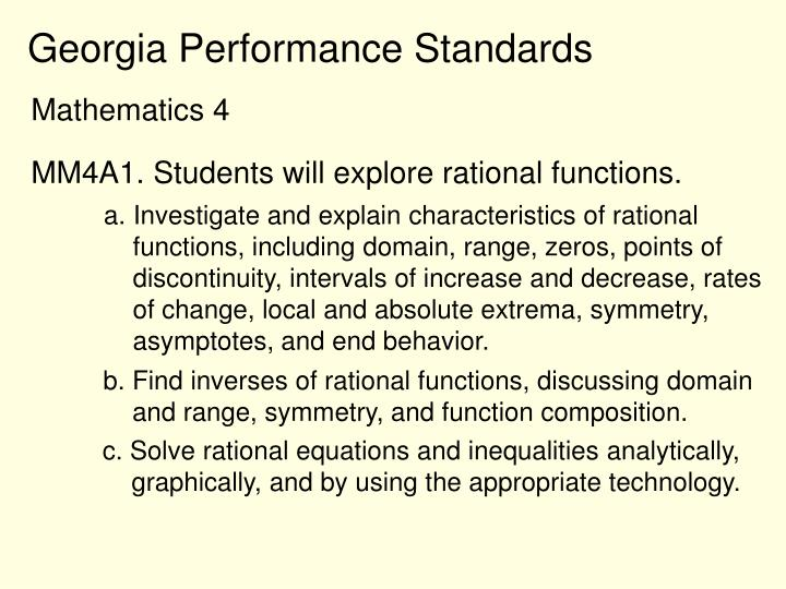 ppt - rational functions powerpoint presentation