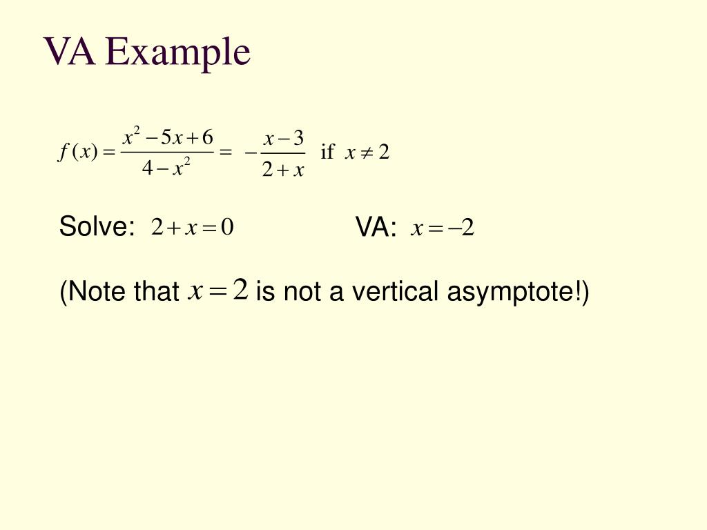VA Example
