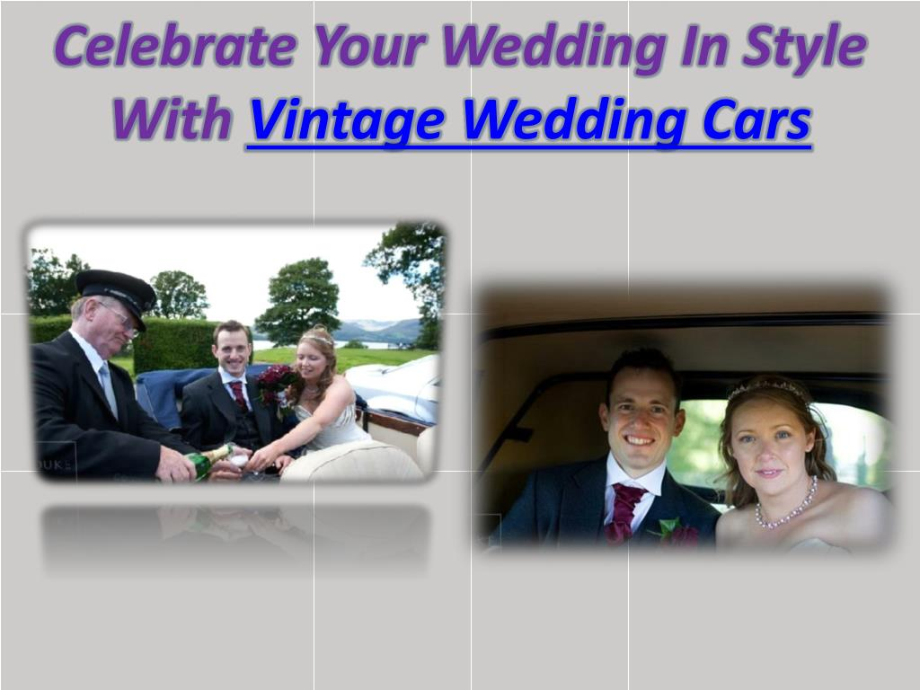 Celebrate Your Wedding In Style With