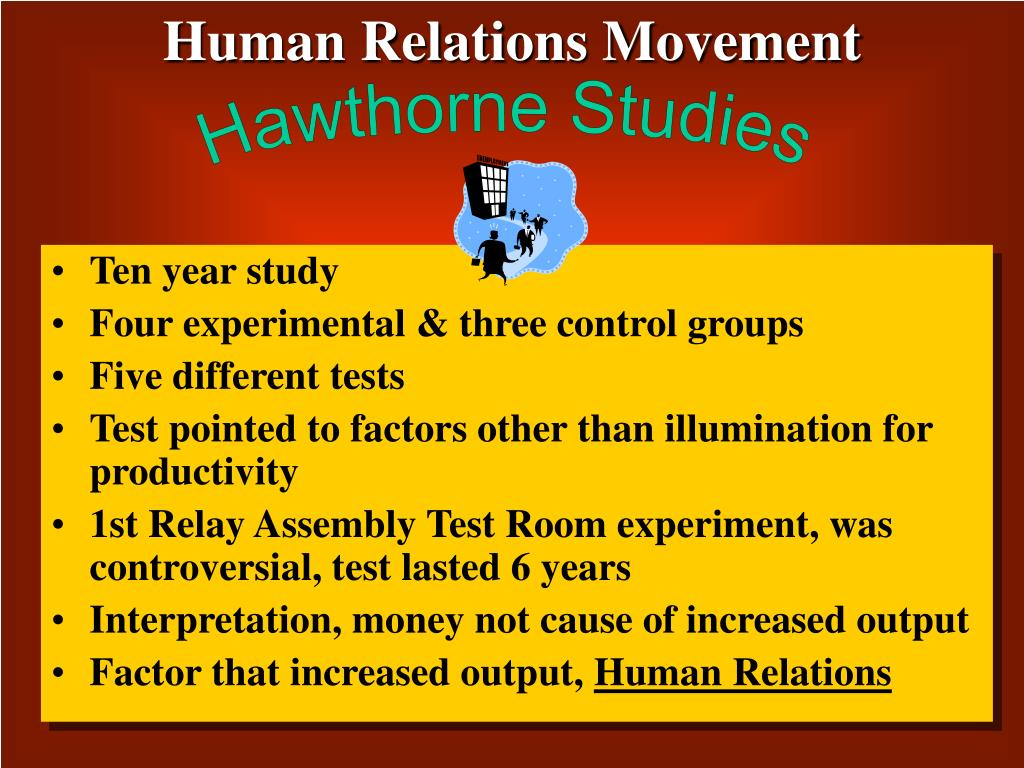 Human Relations Movement