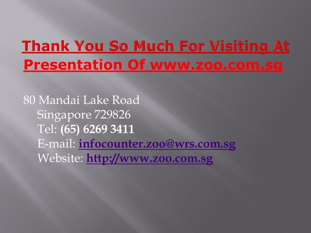 Thank You So Much For Visiting At