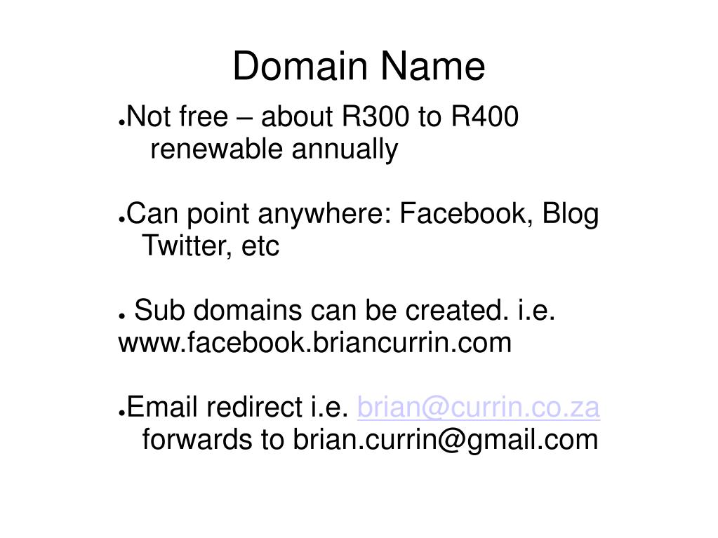 Not free – about R300 to R400