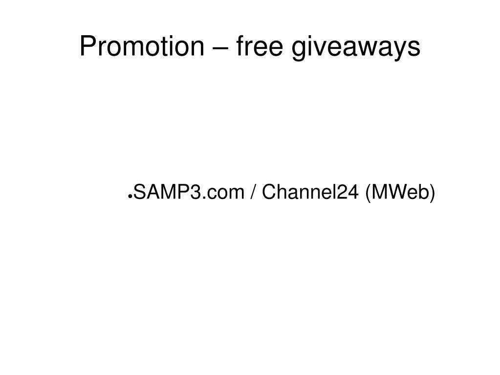 SAMP3.com / Channel24 (MWeb)