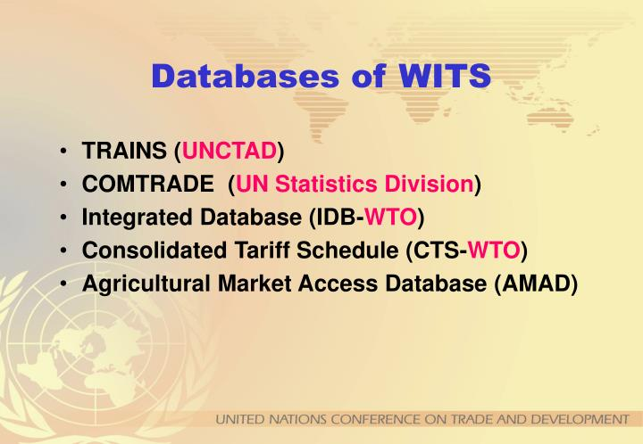 Databases of wits