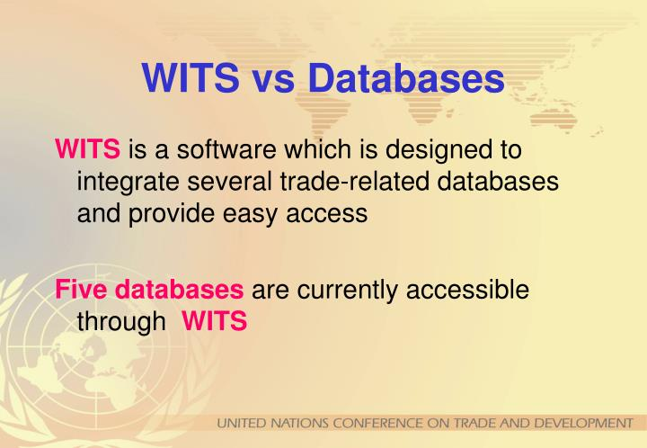 Wits vs databases