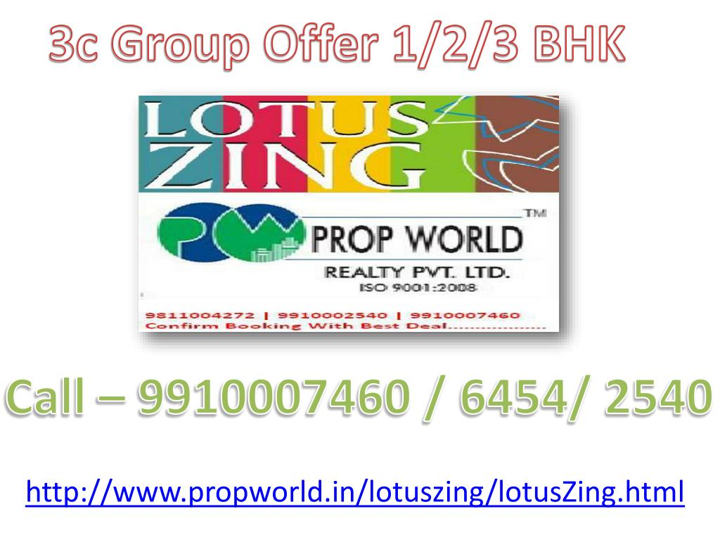 3c Group Offer 1/2/3 BHK