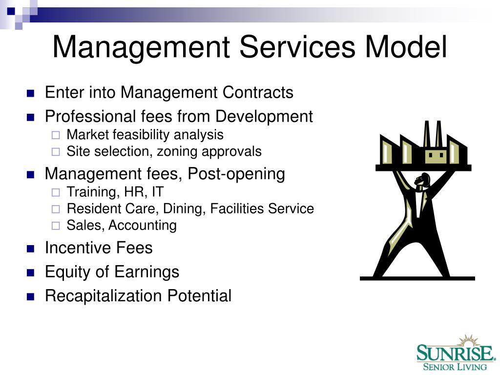 Management Services Model