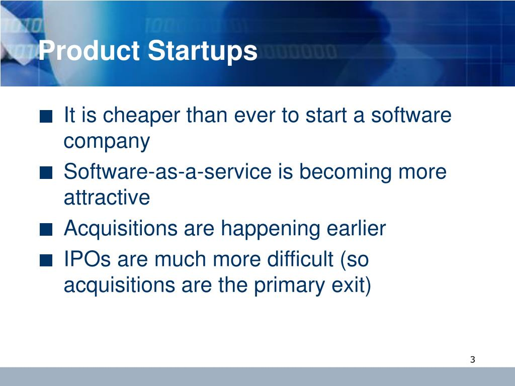 Product Startups