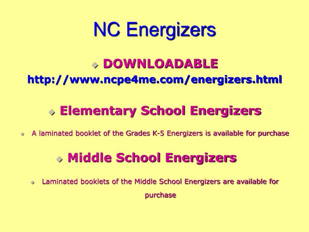 NC Energizers