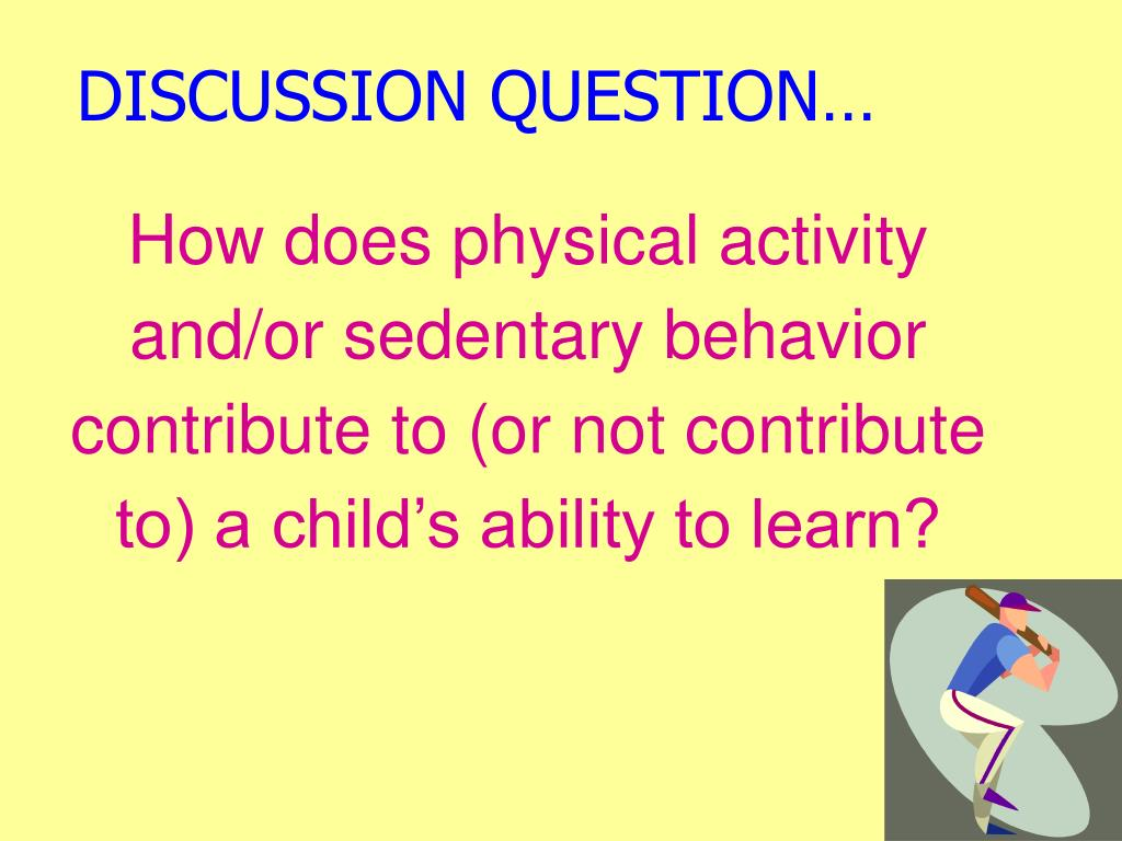 DISCUSSION QUESTION…