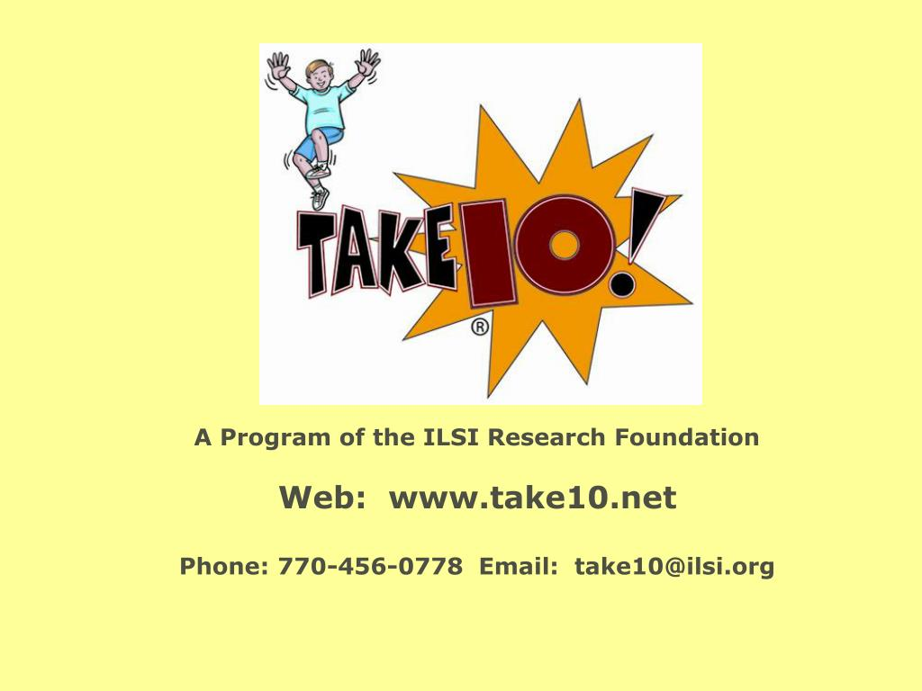A Program of the ILSI Research Foundation