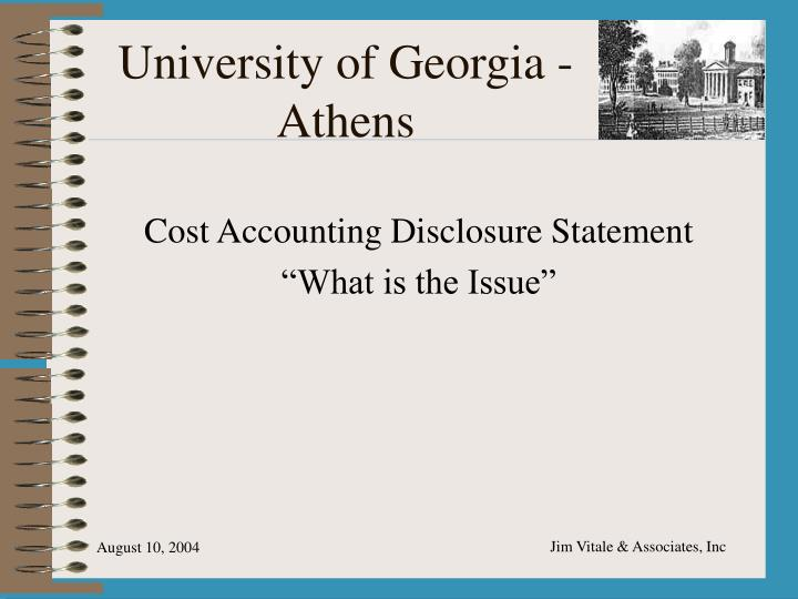 university of georgia athens