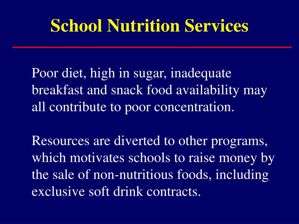 School Nutrition Services