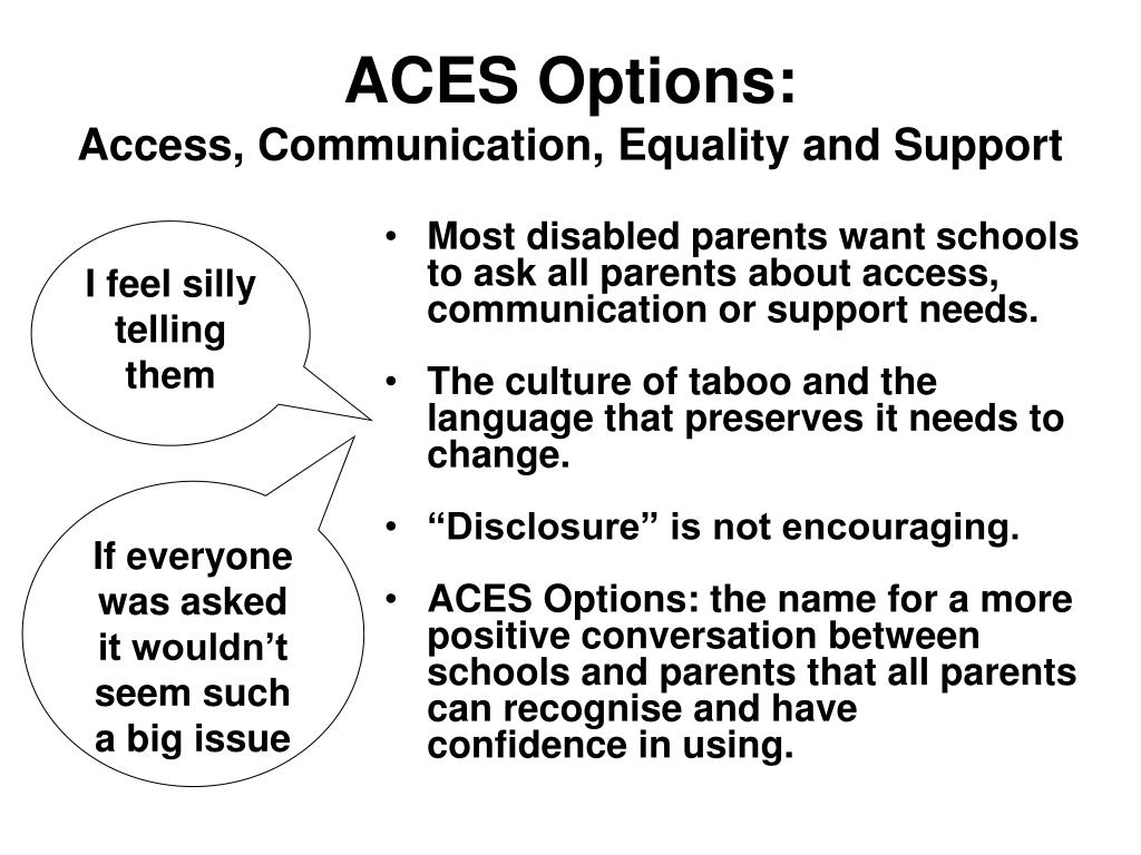 ACES Options: