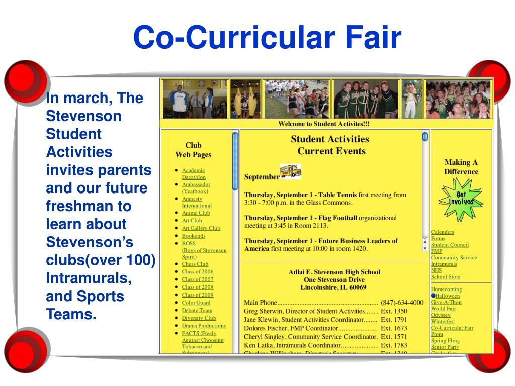 Co-Curricular Fair
