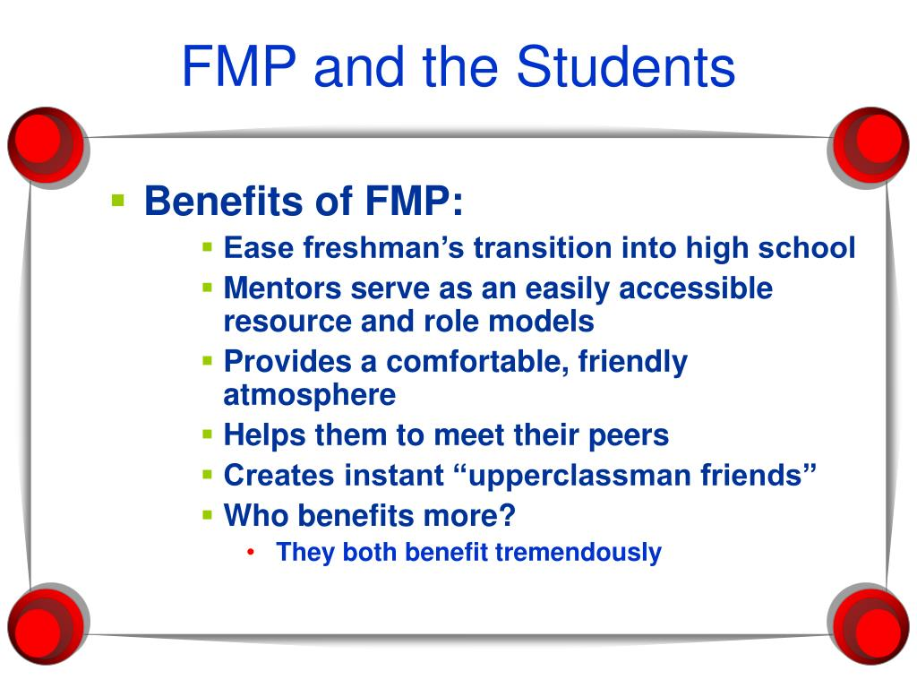 FMP and the Students