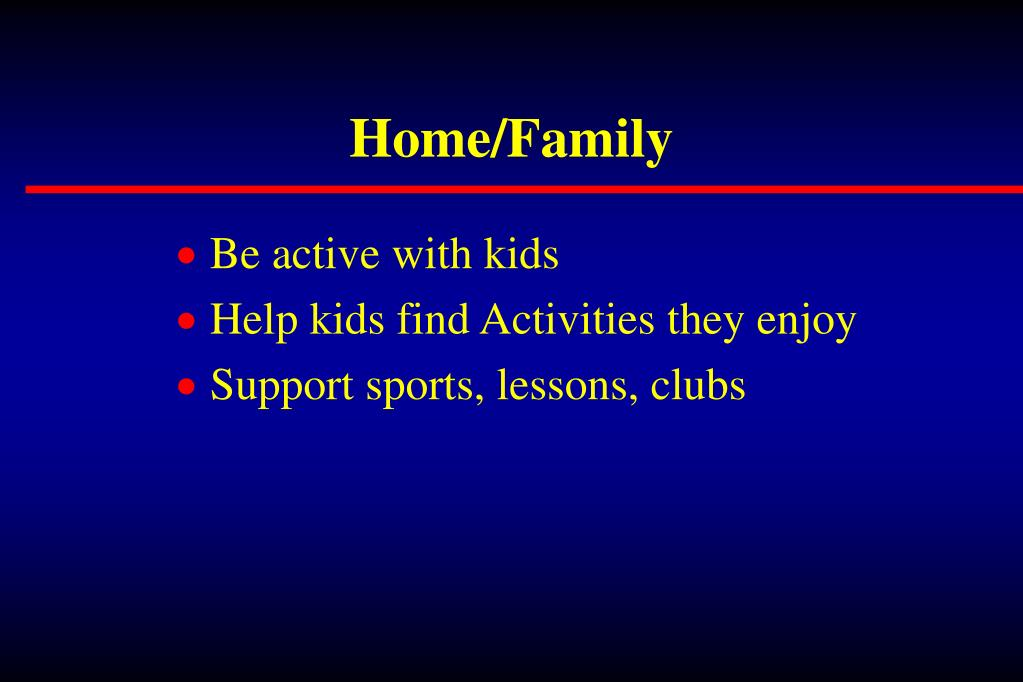Home/Family