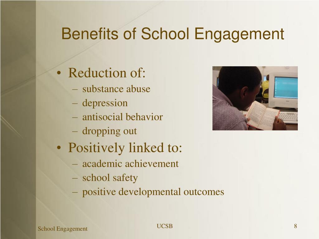 Benefits of School Engagement
