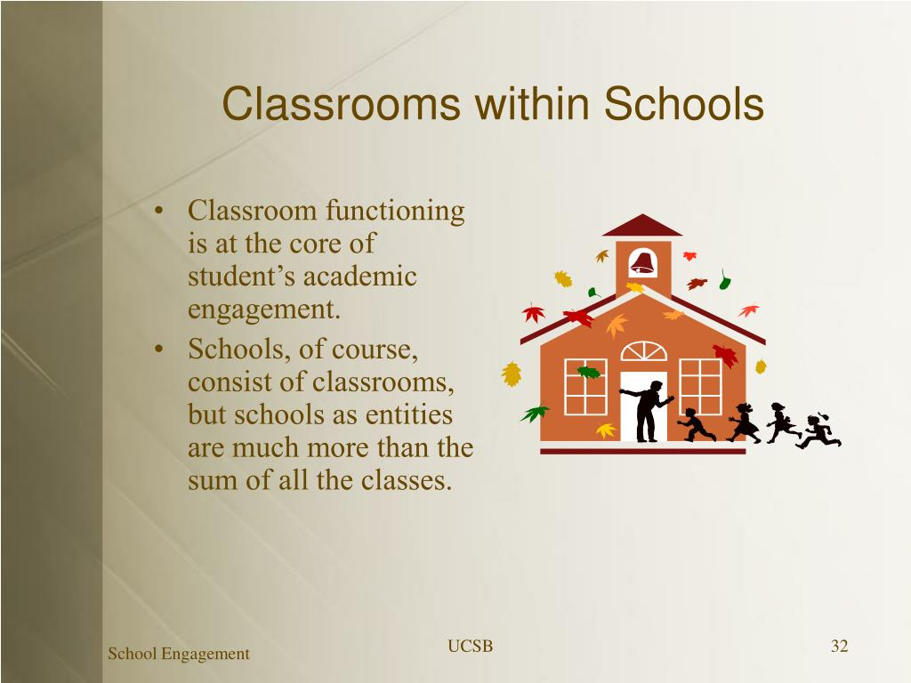 Classrooms within Schools