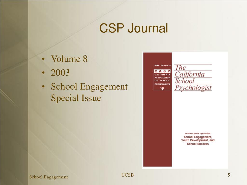 CSP Journal