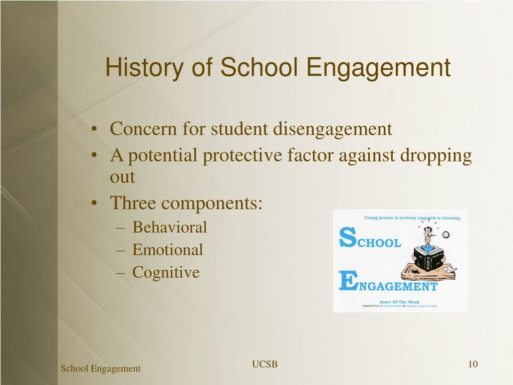 History of School Engagement